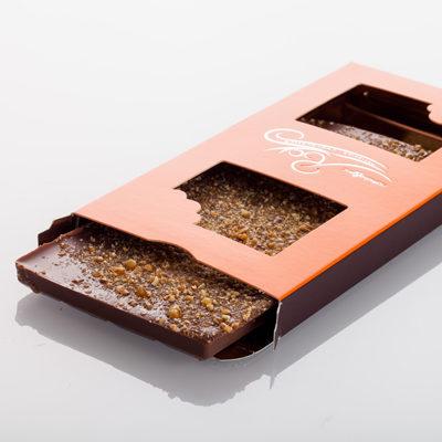 Tablette de chocolat - Lait caramel